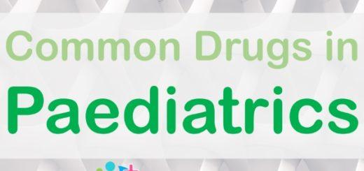 Common Drugs Paediatrics medicine